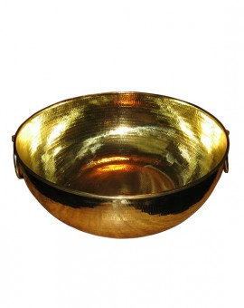 Bowl Spa Brass with Ring