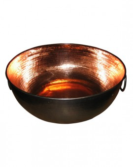 Bowl Spa Copper with Ring