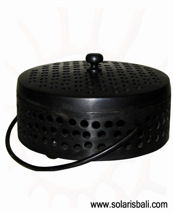 Mosquito Coil Tray BRASS Black