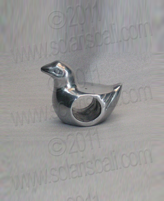 Napkin Ring Aluminium DUCK