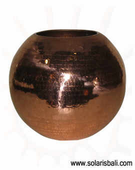 Vase Copper BALL