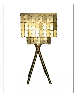 Table Lamp Brass NURAI
