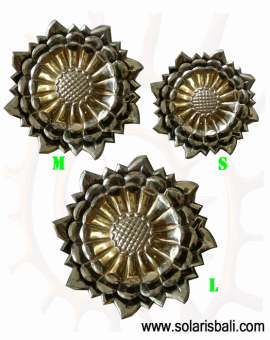 Wall Decor Brass LOTUS Flower
