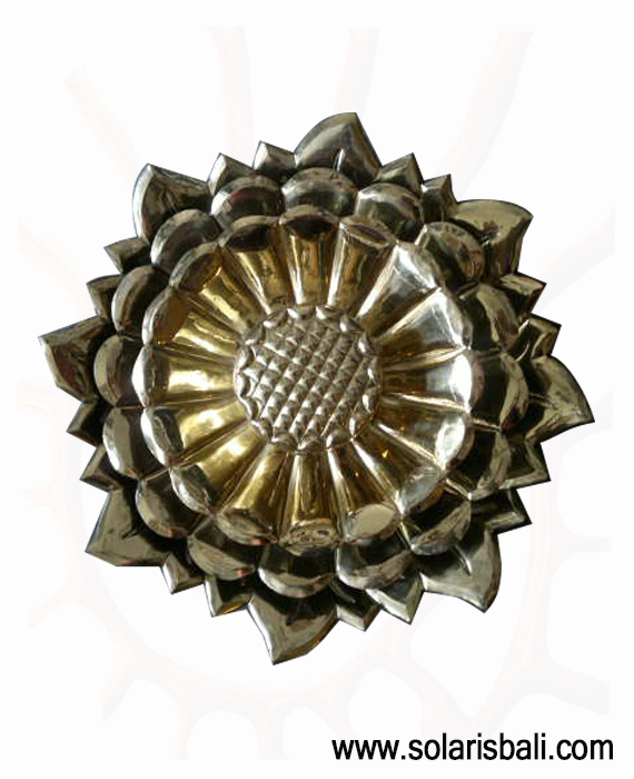 Wall Decor Brass LOTUS Bali