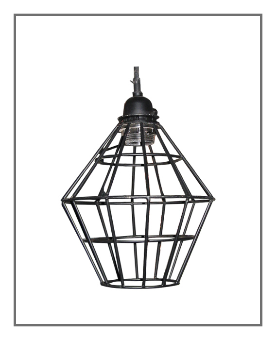 Wire Lamp Iron Industrial #48